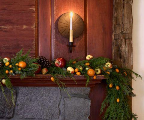 fruit garland holiday craft
