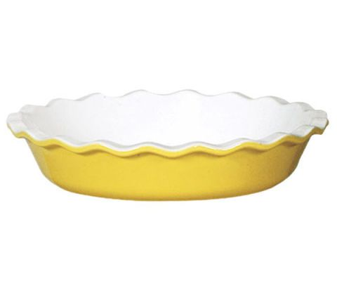 "Emile Henry 10"" Pie Dish, $40"