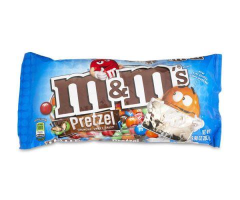 mm pretzel chocolate candies