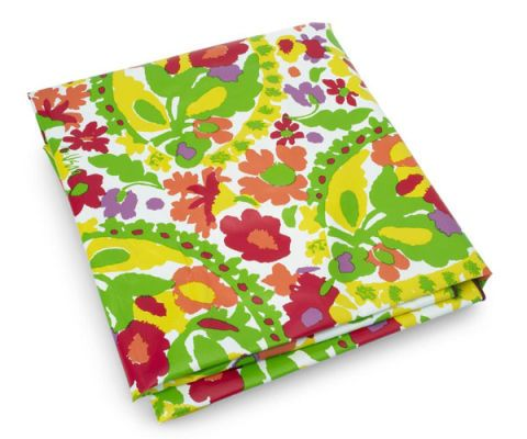 vera flower tablecloth