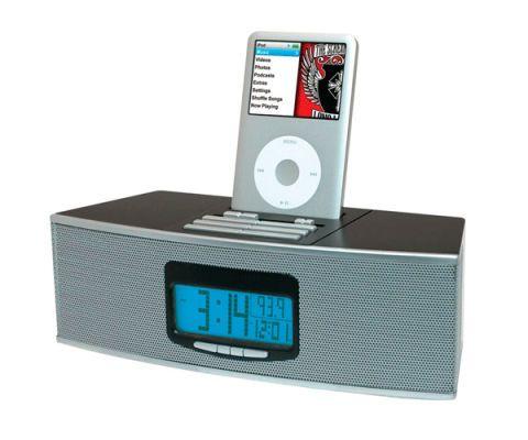 best ipod docks alarm clocks rh goodhousekeeping com Memorex iPod Alarm Docking Station Memorex iPod Desktop Speaker with Clock