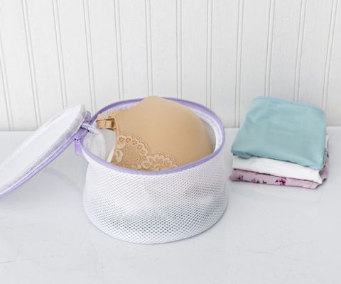 bra mesh wash bag