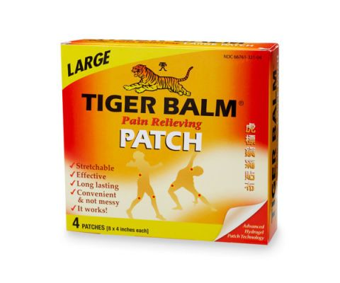 tiger balm pain releiever patch