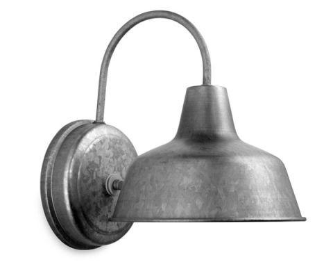 tin wall lamp