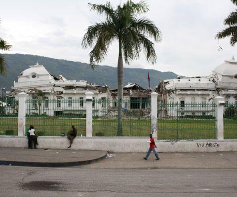 haitian presidents palace