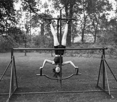 Vintage Exercise Adds