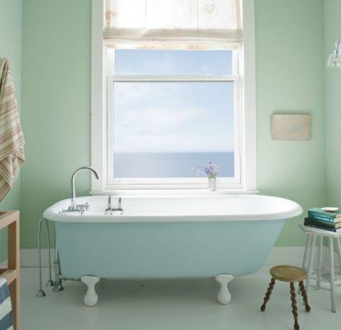12 best bathroom paint colors popular ideas for bathroom wall colors rh goodhousekeeping com Popular Rustic Bathroom Vanity with Dark Colors for Walls Best Color for Bathroom Walls