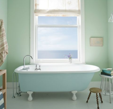 Mint Bathroom Paint Color