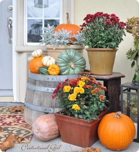 Image result for Fall Porch