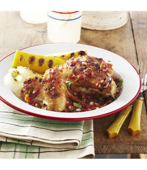 chicken with tex mex salsa