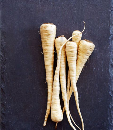 citrus simmered parsnips