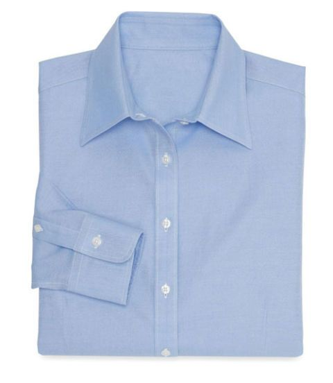 brooks brothers no iron shirt