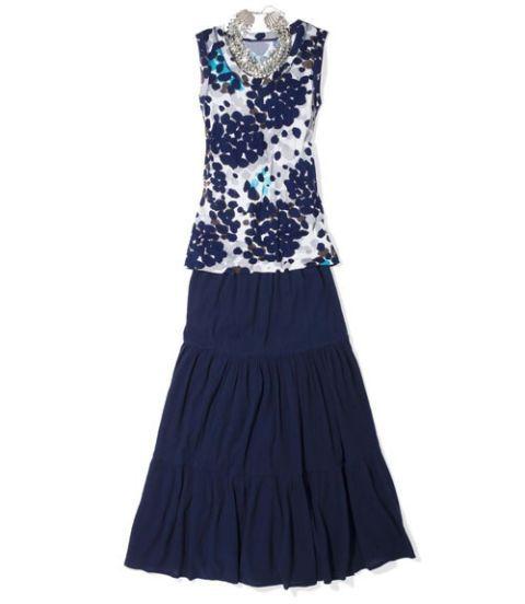 calypso st barth for target boho skirt