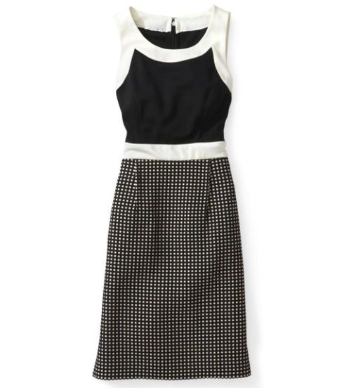 donna morgan dress polka dots