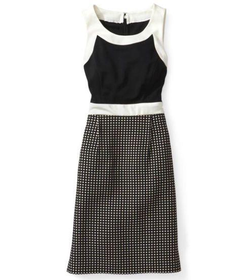 donna morgan dress polka dots