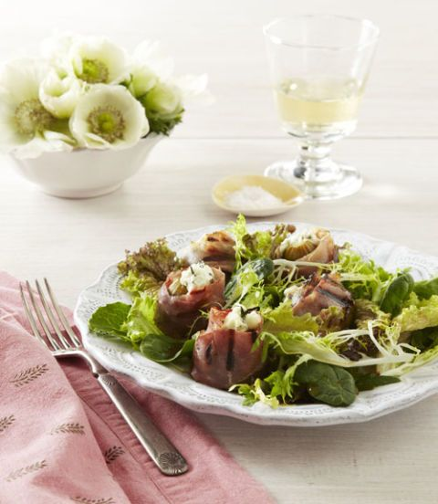 prociutto wrapped fig salad