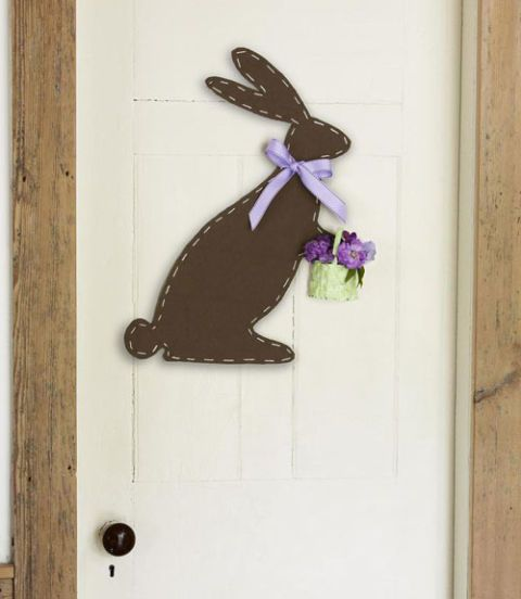 Bunny Door Decoration - Easter Wreaths