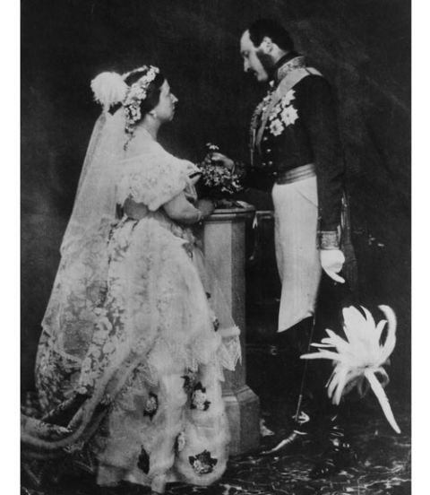 White Wedding Dress Queen Victoria: Pictures Of Royal Weddings