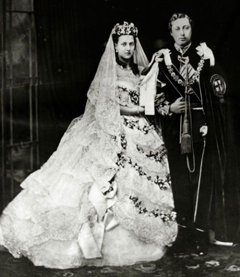 Prince Albert Edward and Princess Alexandra