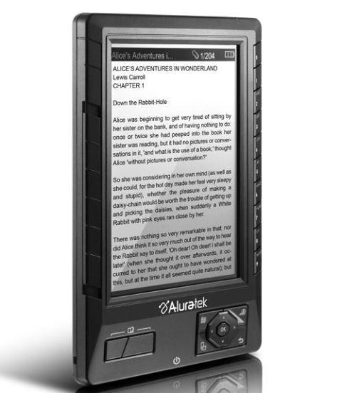 aluratek libre ebook reader pro