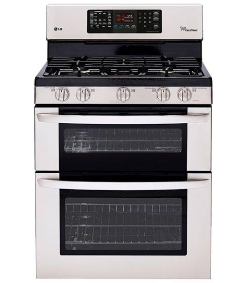 lg double oven range ldg3036st