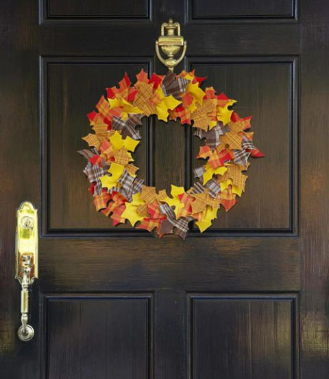 Fall Wreaths - Leaf It There Wreath