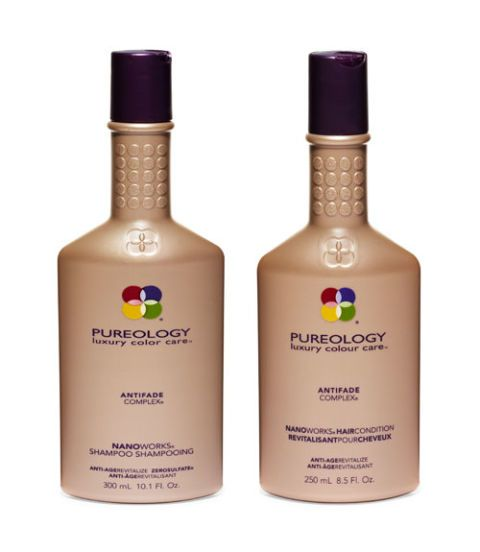 pureology nanonworks shampoo and conditioner
