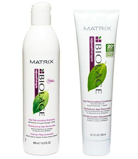 biolage rejuvatherapie age rejuvenating shampoo and conditioner