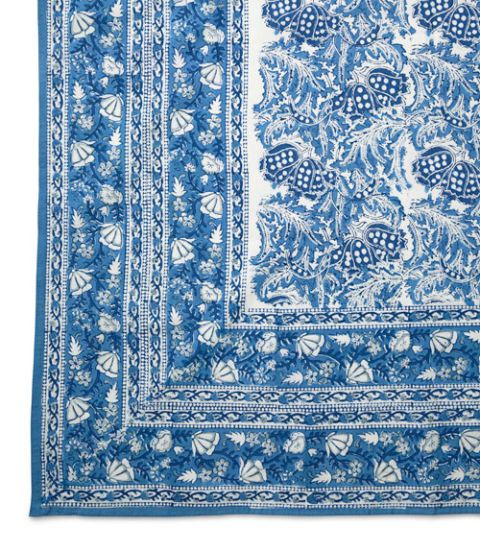 wisteria indian tablecloth