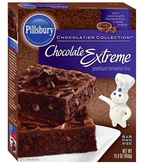 pillsbury chocolate extreme brownie mix
