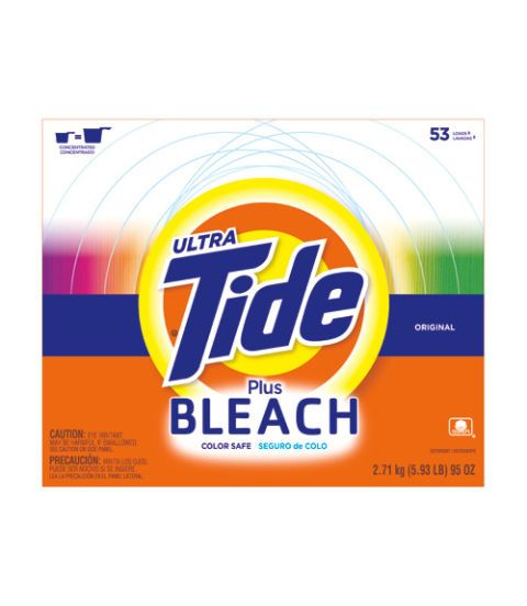 ultra tide plus bleach