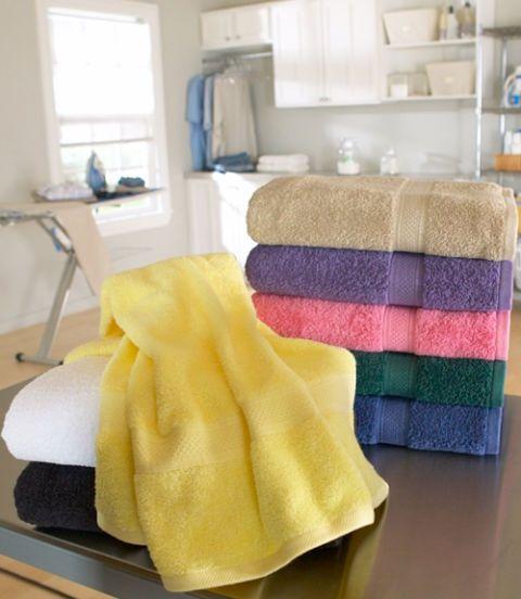 lasting color towels