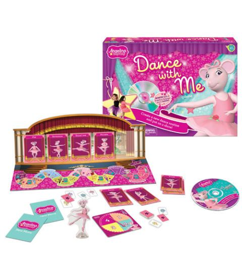 angeline ballerina dance with me game ages 3 and up