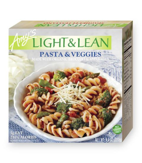 amys light and lean pasta and veggies