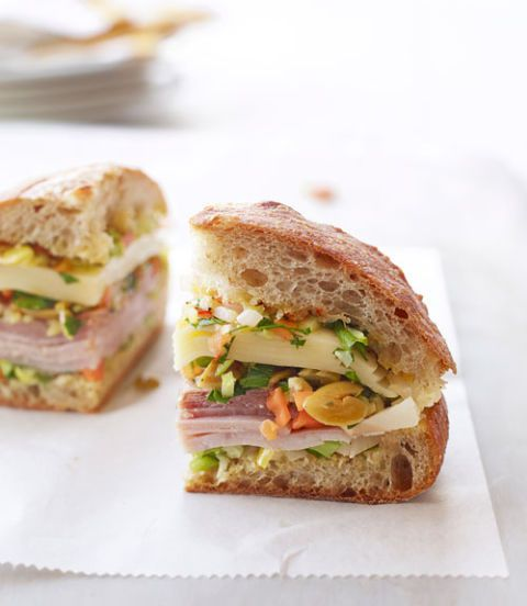 muffulettas sandwich