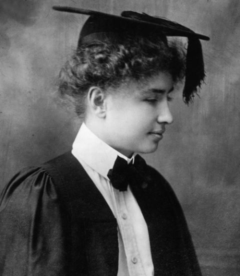 helen keller's graduation from radcliffe