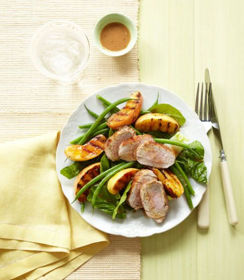 grilled pork apple salad recipe