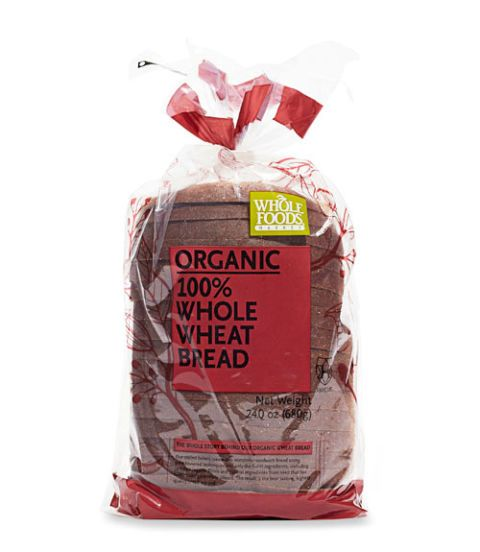 whole foods organic whole wheat bread