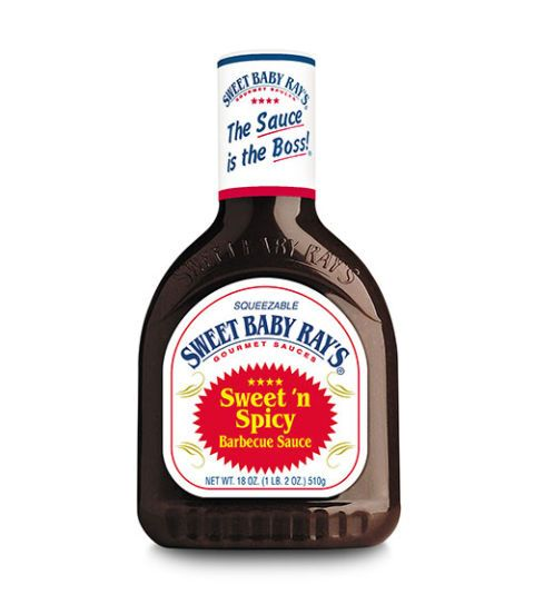 sweet baby ray's sweet and spicy barbecue sauce