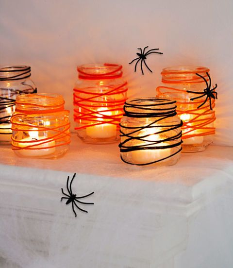tangled web candle votive