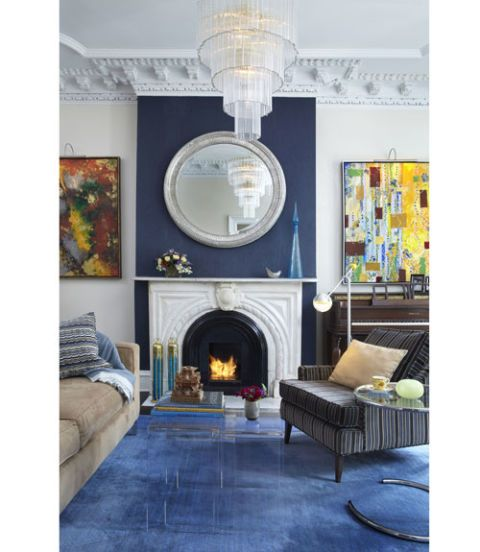 Blue Rooms - Decorating with Blue