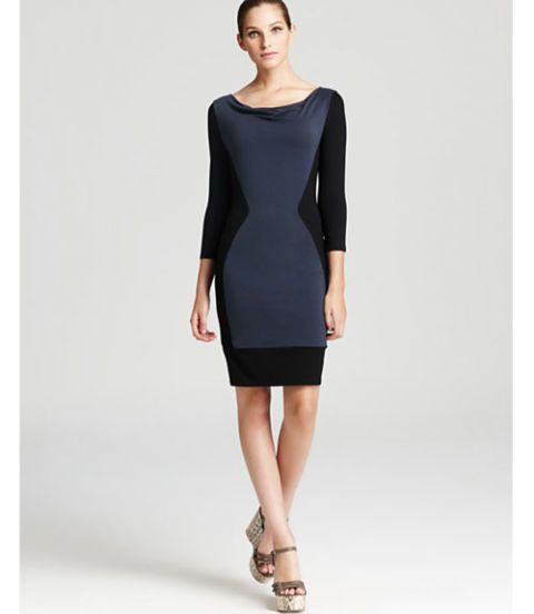 Colorblock Dress Three Dots
