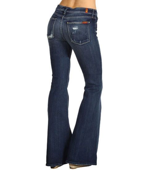 7 For Mankind Flare Jeans