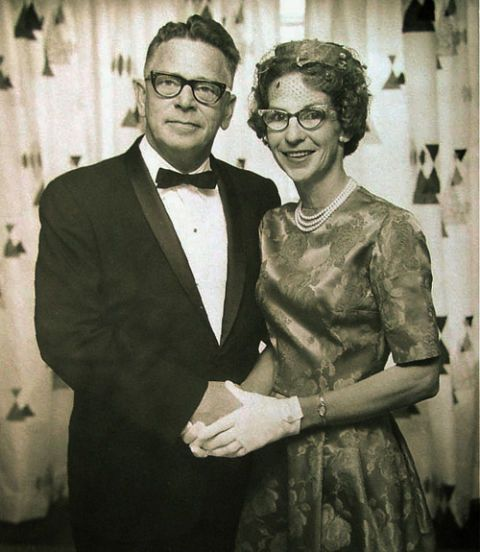 man and woman in 1965
