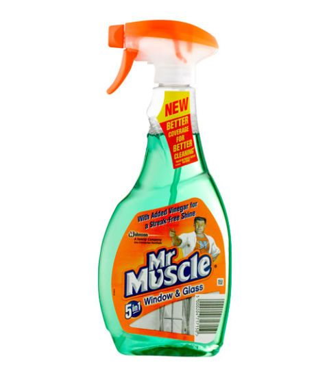 mr muscle glass cleaner