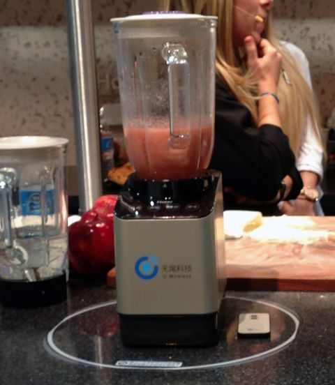 haier wireless blender
