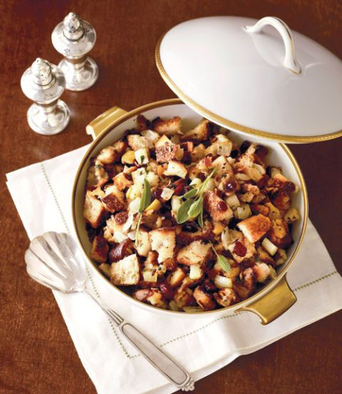 savory stuffing with pears