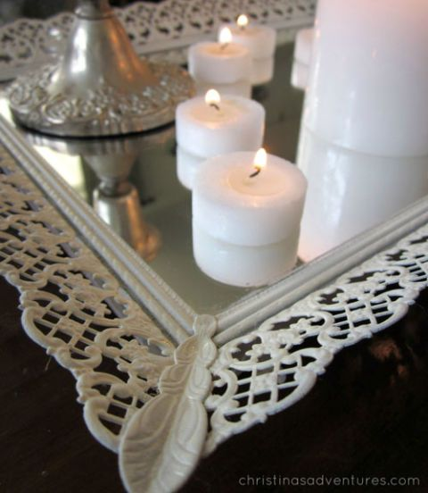 Mirrored Centerpiece