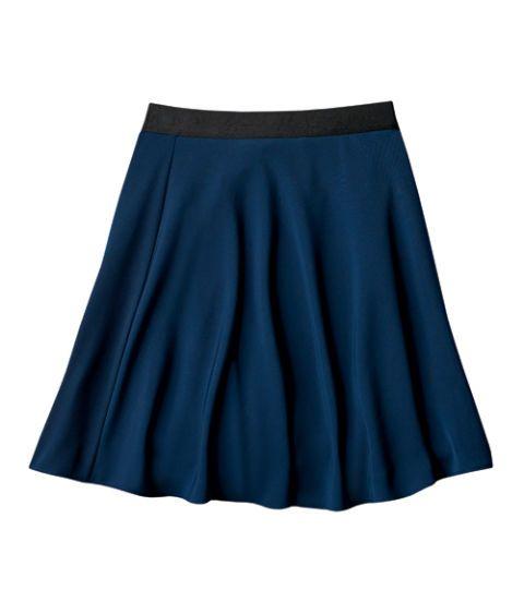 silky skirt