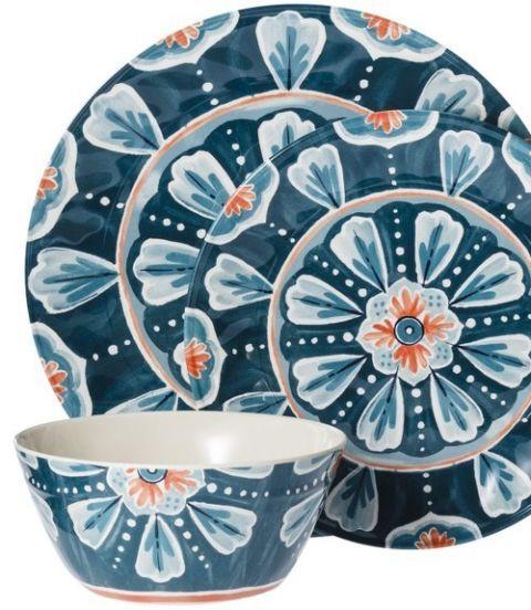 Dishware, Serveware, Porcelain, Teal, Ceramic, Art, Turquoise, Aqua, Circle, Pottery,